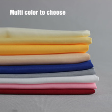 "10pcs/lot 19"" Red/Yellow/White Multi Color Hotel Plain Folding Cloth Western Dinner Table Napkin Polyester For Party Decoration(China)"