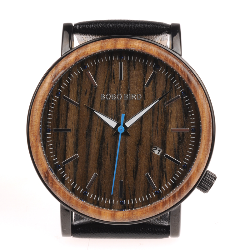 wooden watches  mens bobo bird luxury brand watches for men gifts (5)