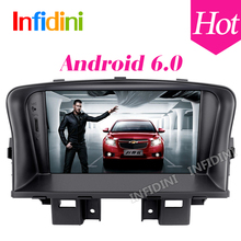 Android 6.0 Car GPS player for Chevrolet Cruze 2008-2011 with Quad Core Mirror Link Stereo GPS Navigation Radio 2 din car stereo