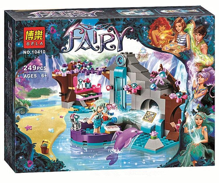 Compatible Lepin Elves Naldas Spa Secret 41072 Building Bricks Original BELA 10410 Fairy Toys For Children<br><br>Aliexpress