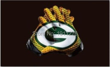 Green Bay Packers USA Football Flag 90x150cm NFL Stars and Stripes flag quality polyester 100D 3x5ft free shipping(China)