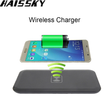 Universal Portable Qi Wireless Charger Charging Pad For Samsung Galaxy S8 S6 S7 Edge Note 5 iPhone X 8 8 Plus elephone P9000