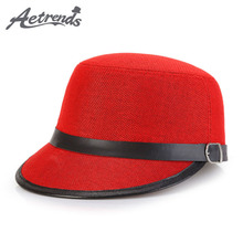 [AETRENDS] 2017 Vintage Linen Fedora Hats for Women Fedoras England Straw Snapback Cap Z-5378()