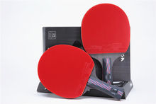 Quality Stiga table tennis racket pat Hybrid Wood 7.6 table tennis blade Double inverted rubber PINGPONG paddle