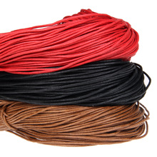 10 yards red color cotton wax bead wire thread line DIY jewelry jewelry production line wax rope brown rope