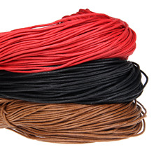 10 yards red color cotton wax bead wire thread line DIY jewelry jewelry production line wax rope brown rope(China)