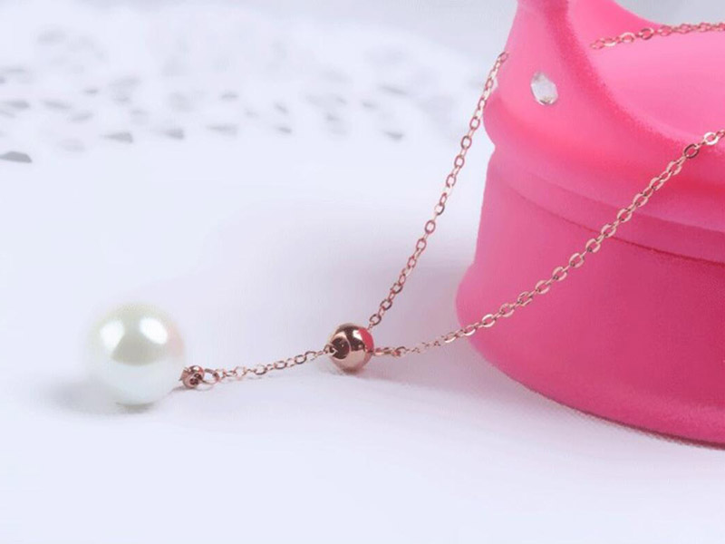 SINYA Trendy Multifunctional Pendant 8-8.5mm Pearl Pendant 18k Yellow Gold Chain& Akoya Pearl Pendant Necklace For Women Gift (23)