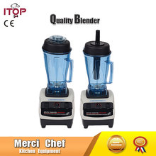 Food Machine US/UK/EU plug Heavy Duty Commercial Blender Juicer Fruit And Vegetable Mixer Grinder Electrical Food Processor(China)