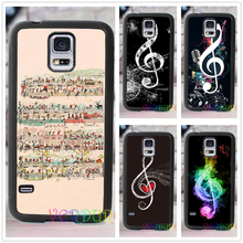 MUSIC NOTES MUSIC IS LIFE cell phone cover case for samsung galaxy s3 s4 s5 s6 s7 s6 edge s7 edge note 3 note 4 note 5 &ss10