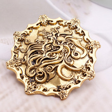 2014 New design Hot Selling A Song of Ice and Fire Game of Thrones Lion Pin brooches jewelry Lannister emblem Tywin Tyrion(China)