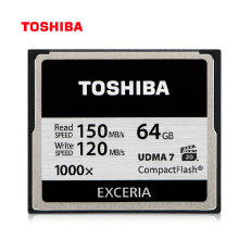 TOSHIBA cf card 128GB 64GB 32GB Memory Card Compact Flash High Speed 1000x R:150Mb/s For DSLR Camera Full HD 3D Video Camcorder