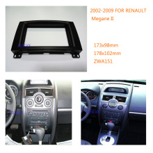 Car Stereo Radio Fascia Panel for RENAULT Megane II 2002-2009 Car Radio Mounting frame CD Trim Installation Kit