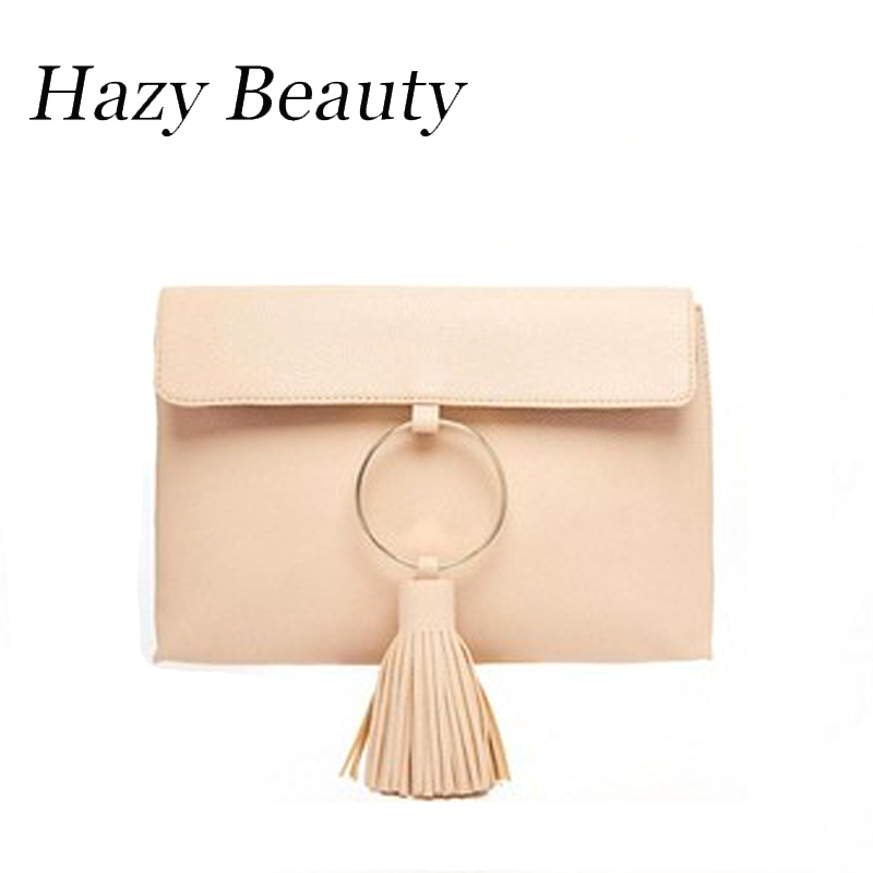 Hazy beauty New glory pu leather handbag easy chic apricot women fashion clutch super hot lady hand purse new day clutch DH121<br><br>Aliexpress