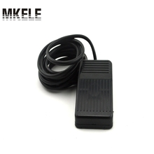 Foot switch the length of the line 3 meters high frequency 50-60Hz factory direct USB plastic new black wired heavy duty medical