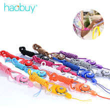 Universal Mobile Phone Lanyard Rotatable 2 in 1 Multifunction Rope Neck Strap ABS Metal 0.4m Keychain For iPhone Samsung(China)
