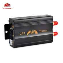 Vehicle GPS Tracker TK103A GPS103A Car Tracking Device Cut Oil Fuel Sensor SOS Geo-fence Over Speed Alarm
