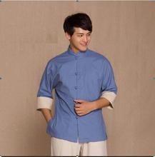 SPA uniform for men Long sleeve Thai Beauty salon uniforms