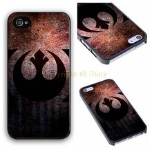 Star Wars Art Rebelion Logo Design Fancy Cell Phone Case cover for iphone 4 4s 5 5s 5c 6 6 plus