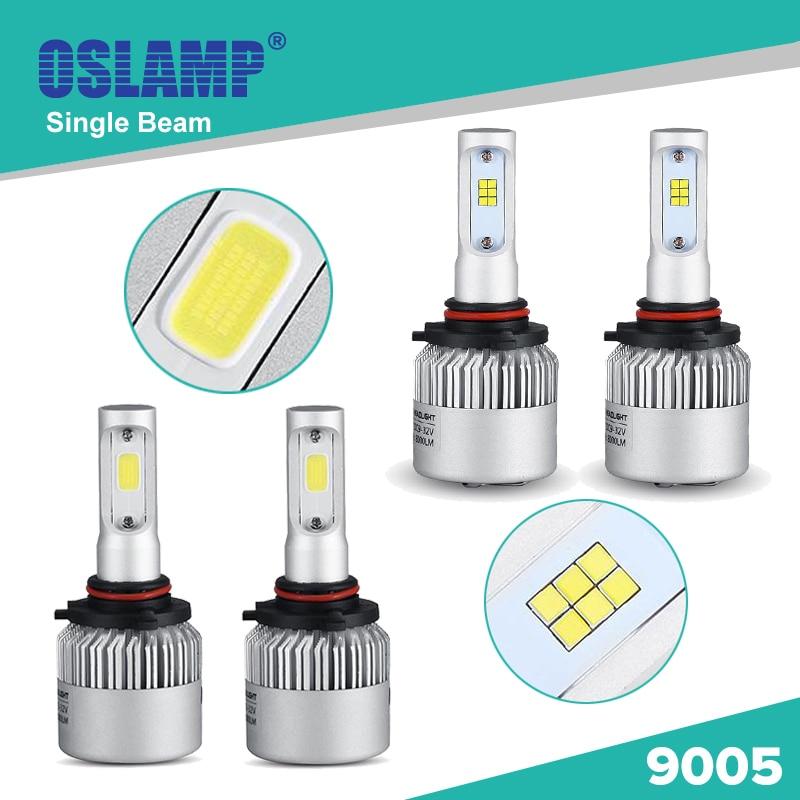 Oslamp Single Beam #9005 Car Led Headlight Kits COB/CREE CSP Chips Automobile Head Light Bulbs with Fan SUV Leds Fog Lamps HB3<br><br>Aliexpress
