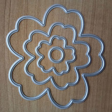 Buy New Flower Metal Cutting Dies Stencils Scrapbooking Album Paper Card DIY Craft Die Cutting Template for $1.28 in AliExpress store