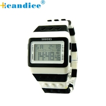 Hot Marketing  Popular Hot selling   Unisex Colorful Digital Wrist Watch  wholesale  Sep16