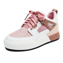 2017 Woman Lightweight Sneakers Summer Breathable Mesh Female Free Running Shoes Lady Trainers Walking Outdoor Sport Shoes YS(China)