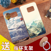 Nature Cover Silicone Case For Samsung Galaxy Note 2 3 Neo 4 5 7 Pretty Soft Relief Shell For Samsung S4 S5 S6 S7 Edge S8 plus(China)