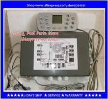 Ethink KL8-3H Set hot tub Controller  Control box Pack + Display Panel  for 2 pump spas fit ET-H3000 + 12VAC Light