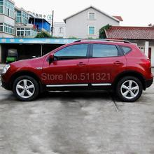 For Nissan Qashqai Dualis 2007-2010 Has Hole Sites Roof Rack With Screw Car Roof Luggage Carrier Baggage Rack Holder Car Styling