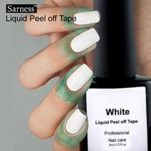 Sarness Gel Varnish Skin Defender Liquid Latex Adhesive Peel Off UV Gel Nail Polish Liquid Peel Off Latex Skin Care Nail Art(China)