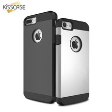 KISSCASE Hybird Phone Cases For iPhone 4 4s 5 5s SE 6 6s Plus 7 7 Plus Case Shockproof Armor Phone Back Cover  Coque Accessories