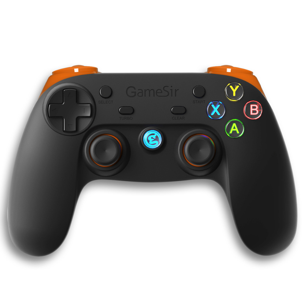 GameSir G3s 2.4Ghz Wireless Bluetooth Gamepad Controller Joystick  for PS3 TV BOX Android  Smartphone Tablet PC (Orange)<br>