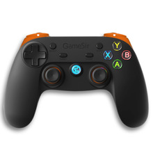 GameSir G3s 2.4Ghz Wireless Bluetooth Gamepad Controller Joystick for PS3 TV BOX Android Smartphone Tablet PC (Orange)(China)