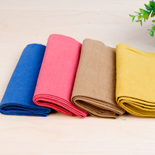 Wash-yarn woven linen cotton fabric for Spring garments high quality home textile patch work 100*140cm/meter W300056
