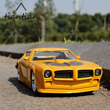 1:32 simulation Sports car Pontiac Firebirds Classic collection of ornaments kids toys Die casting Car model(China)
