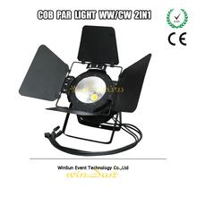 Stage LED Strobe Flash Par Can Light Flicker Free for Film/Television Led Par Light 100w With COB Source 2in1 High Output WW+CW