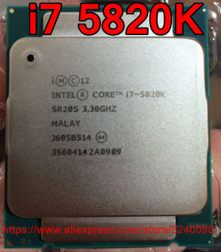 Intel Processor Cpu-Core-I7 5820K 15M Original title=