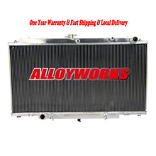 Fast delivery High Capacity Racing parts 3 ROW ALUMINM RADIATOR FOR Nissan GU PATROL Y61 TD2.8/3.0/4.2L TURBO DIESEL AT/MT