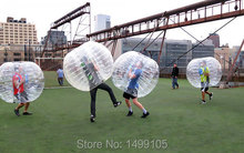 1pcs/lot transperant plastic human sized hamster ball(China)