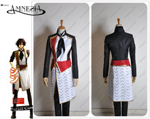 Amnesia shin kent Cospaly Costume Custom Made Men Male Top Coat Jacket Pants School Uniform Outfit Clothing For Adult(China)