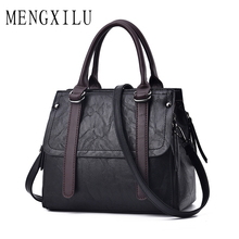 Buy MENGXILU Fashion Solid Women Handbags Big Crossbody Bags Women Bag High Leather Handbags Ladies Hand Bags Tote Bag for $24.88 in AliExpress store