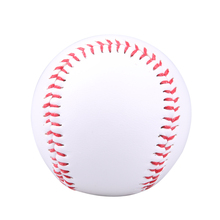 "1 PC 9"" New White Base Ball Baseball Practice Training PVC Softball/Hardball Hand Sewing Sport Team Game For Outdoor Sports(China)"