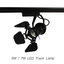 LED Track Light COB AC85-265V 30 Angle 5W / 7W Art Lamp Modern Style Spotlight Lighting Upscale Market Clothing Shop Decoration(China)