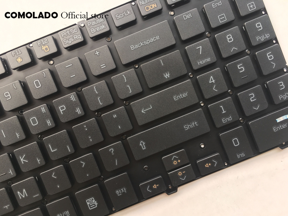 KR Korean keyboard For LG S530 S530-K S530-G S530 S525-K S525K S525G S525 Black without frame keyboard KR layout (2)