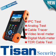 3.5 inch IP CVBS Analog Camera CCTV tester with Digital Multi-meter Cable Tracer /Video level meter/TDR Cable Test