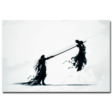 Cloud VS Sephiroth - Final Fantasy XV Game Art Silk Poster Print 12x18 24x36inch Wall Pictures For Bedroom Living Room Decor 026