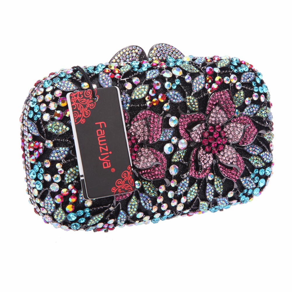 Fawziya Bag Girl Floral Evening Bags And Clutches For Prom Clutch Bags For Girls