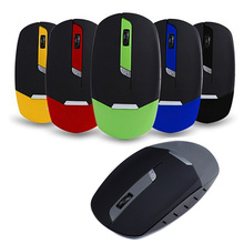 Slim Wireless Mouse 1600 dpi Computer Mouse Mice USB Receiver 2.4G Classical LED Optical Gaming Mouse S0A27 T16