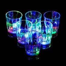24PCS Led Flashing Cup Appliance for Nightclub Bar KTV Birthday Party and Dance Party Halloween Christmas Events(China)