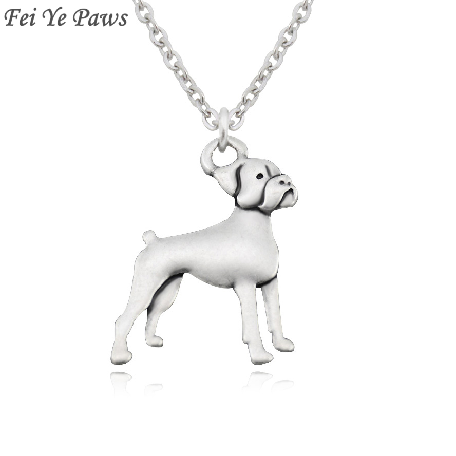Dog Crystal Necklace Collection Exceptional Gift Dogo Argentino Pendant